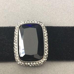 Velvet Bracelet Magnetic Closure